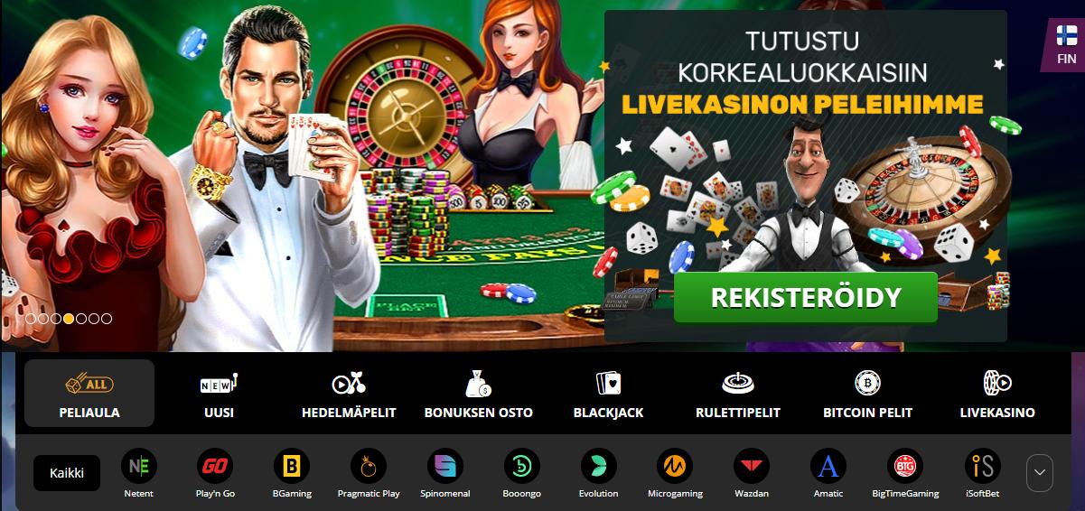Bitcoin kasinoer 2020 online